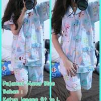 Harga yz3 pajamas momo blue 3 | antitipu.com