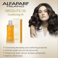 alfaparf milano absolute conditioning oil serum rambut kering rusak