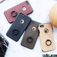 Jual WOOD RING CASE FOR IPHONE 5/5S/SE 6/6S 6+/6S+ 7/7+ 8/8+ Murah