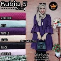 Harga baju atasan wanita muslim blouse rubia 5 | Pembandingharga.com