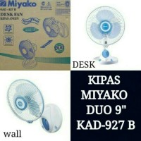 Kipas Angin Meja Dinding Miyako 927/deskfan wallfan /cosmos sekai