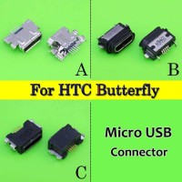 HTC Butterfly 2 B810x/S 901S/E 9060 9088 919D X920E Micro USB Port