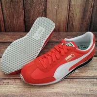 ORIGINAL PUMA WHIRLWIND CLASSIC Sepatu Sneakers Pria Warna Orange