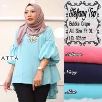 Harga baju atasan wanita muslim blouse stevani | Pembandingharga.com
