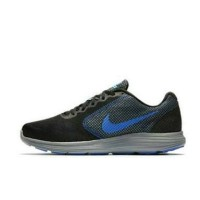 Sepatu Lari Running Nike Revolution 3 Dark Grey Original Asli Murah