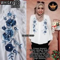 Harga baju atasan wanita muslim blouse whitky | Pembandingharga.com