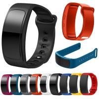 Strap Sport Silicone Watch Replacement Band For Samsung Gear Fit 2