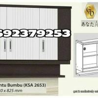Kitchen Set Atas / Lemari Gantung Dapur Anata 3 Pintu Rak Bumbu