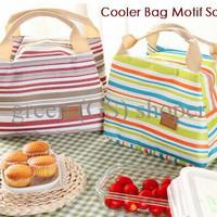 [GRAB] Cooler Bag, Lunch Bag, Tempat Penyimpanan, Tempat Makan, Tas Ma