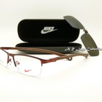 Frame Kacamata Optik Merk NIKE Clip-On New Sporty  Kacamata Minus Ka