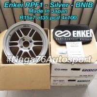 Enkei RPF1 Original R15x7 et35 pcd 4x100 BARU