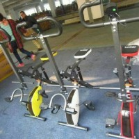 SEPEDA FITNESS EXCIDER BIKE 2 IN 1 POWER HORSE RIDER XBIKE BODY CRUNCH