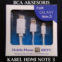 KABEL MICRO USB TO HDMI 1080P ADAPTER KABEL SAMSUNG GALAXY NOTE 3