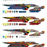 Sticker / Striping Variasi Thailook Mio (MIO Z Sporty)