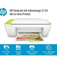 Printer, Scanner, Copier HP DeskJet Ink Advantage 2135 All-in-One