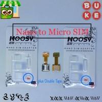 Micro SIM Converter - Dual SIM + MicroSD - Gratis SIM Adapter