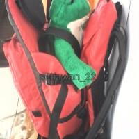 Tas Gendongan Bayi Unik Savety for Adventure ardaniindonesia Merah b