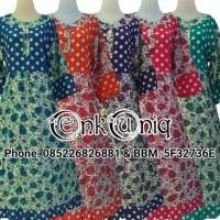 Jual Dress Kancing Polkadot Batik Pekalongan / Dress Busui / DPHM002 Murah
