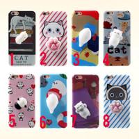 Jual READY Squishy Cat 9gag Case Iphone ip 5 5s 6/6s 7 Case + Squishy  Murah