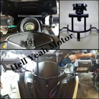 Breket Dudukan Lampu , Holder Hp , GPS NMAX Motor Yamaha