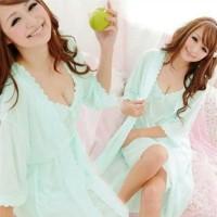EKSKLUSIF    Setelan Baju Tidur Wanita Cantik | SleepWear Daster