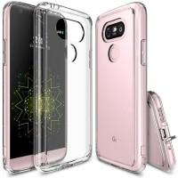 RINGKE FUSION LG G4 G5 se dual soft case transparant casing hard cover
