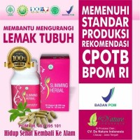 Obat Diet Herbal Yang Alami Sliming Herbal Denature