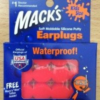 Macks soft Moldable silicone Putty Earplugs for kids