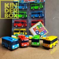 Tayo bus mainan karakter set isi 4 mobil mobilan kartun