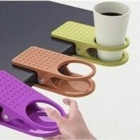 Jual Plastic Table Coffee Cup Holder Clip Murah