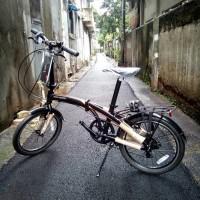 "KUALITAS TERJAMIN Sepeda Lipat Polygon 20"" URBANO 3.0 Seri PA"