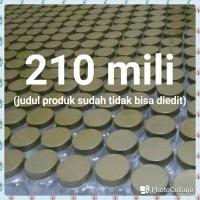 Toples jar tempat plastik kotak selai permen 250ml