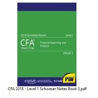 CFA 2018 Level 1 - Paket Komplit