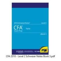 CFA 2018 Level 2 - Paket Komplit