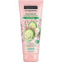 Freeman Mask Cucumber and Pink Salt Clay Mask