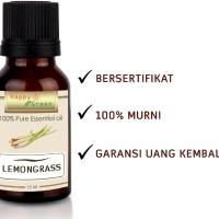 Lemongrass Essential Oil (Minyak Atsiri Sereh Dapur) | 10 ml