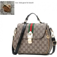 Tas Import elegan Tote bag Handbag Wanita Selempang Kantor Fashion