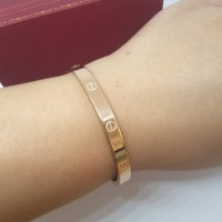 GELANG CARTIER LOVE EVE DIAMETER 5.8 CM SUPER PREMIUM