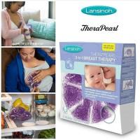 Lansinoh TheraPearl 3-in-1 Hot or Cold Breast Therapy 2ct