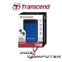 Transcend StoreJet 25H3 1TB - HDD / HD / Hardisk External Antishock