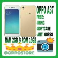 Oppo A37 New 2/16gb New Rosegold N Gold Resmi 1 Tahun