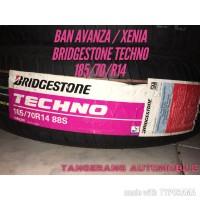 BAN MOBIL AVANZA / XENIA BRIDGESTONE NEW TECHNO 185/70R14