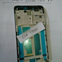 FRAME LCD XIAOMI REDMI NOTE 4X (HITAM) TATAKAN LCD KERANGKA BODY Hp.
