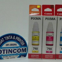 TINTA BOTOL ORIGINAL CANON 790 COLOUR UNTUK PRINTER G1000 G2000 G3000