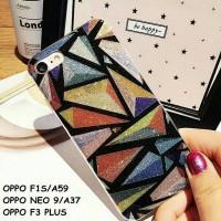 harga Elegant Geometric Bling Glitter Soft Case Oppo F1s A59 F3 F3 Plus Tokopedia.com