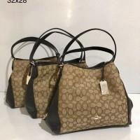 Tas Authentic COACH Edie Shoulder Bag Original Asli