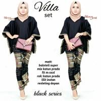baju kebaya wanita villa set batik modern unik cantik lucu