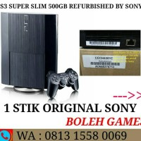 PS3 Super Slim 50OGB OFW Full Game Refurbished By Sony