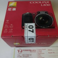 Nikon COOLPIX L830-RED KAMERA PROSUMER