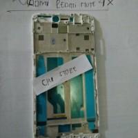 FRAME LCD XIAOMI REDMI NOTE 4X (PUTIH) - FRAME BAZEL TULANG HP.